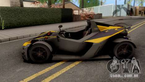 KTM X-Bow R para GTA San Andreas