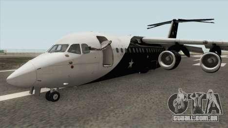 Avro RJ85 (Titan Airways Livery) para GTA San Andreas