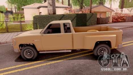 GTA V Vapid Bobcat XL para GTA San Andreas