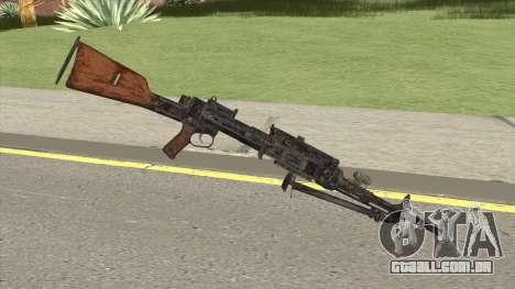 COD WW2 - Breda 30 MG V2 para GTA San Andreas