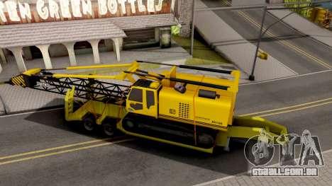 Lowbed Trailer para GTA San Andreas