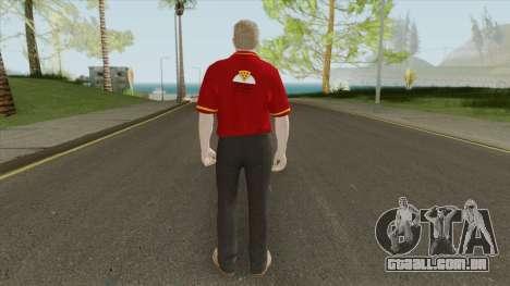 GTA Online Skin V1 (Restaurant Employees) para GTA San Andreas