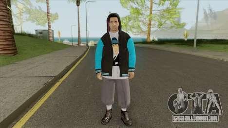 Argentine Gang Skin V1 para GTA San Andreas