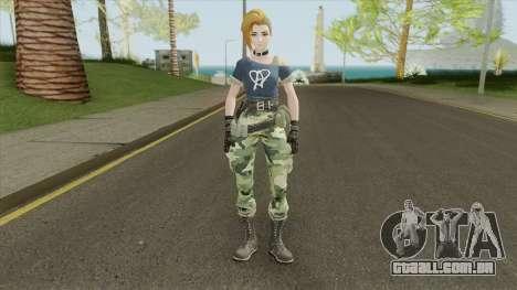 Creative Destruction - Female Soldier para GTA San Andreas