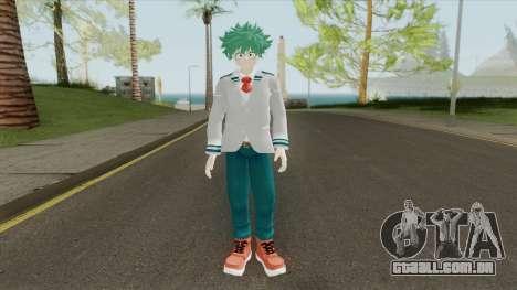 Deku Skin V3 (Boku no Hero) para GTA San Andreas