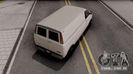 GTA V Declasse Burrito para GTA San Andreas
