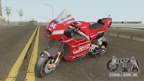Ducati Desmosedici GP19 Andrea Dovizioso para GTA San Andreas