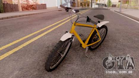 Smooth Criminal Mountain Bike v2 para GTA San Andreas