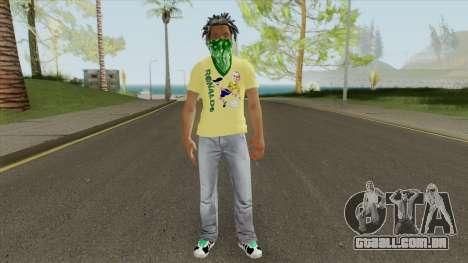 Brazilian Gang Skin V1 para GTA San Andreas