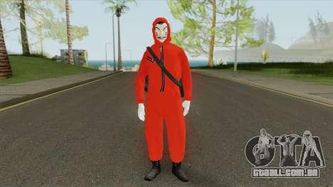 Skin Personagem La Casa De Papel para GTA San Andreas