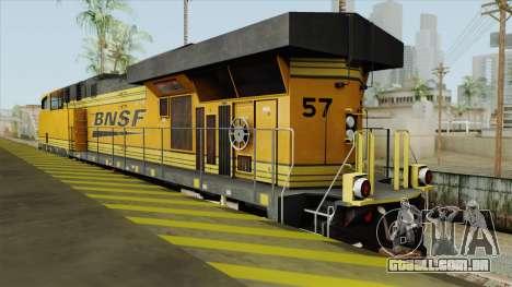 GE ES44AC Freight BNSF (Update) para GTA San Andreas