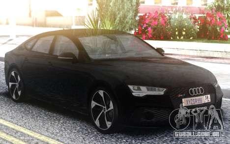 Audi RS7 Restyling para GTA San Andreas