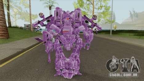 Shockwave Skin (Transformers The Game) para GTA San Andreas