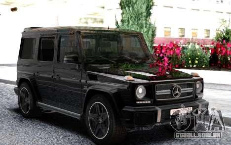 Mercedes-Benz Gelandewagen2 para GTA San Andreas