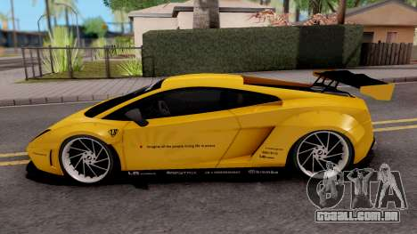 Lamborghini Gallardo LP570 2011 Liberty Walk para GTA San Andreas