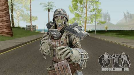 Fourth Reich Skin V1 From Metro: Last Light para GTA San Andreas