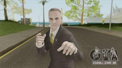 US Government Agent V2 (CoD:BO 2) para GTA San Andreas
