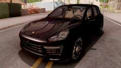 Porsche Cayenne Turbo S Black para GTA San Andreas
