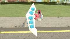 Duel Disk Yugioh Weapon para GTA San Andreas