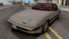 Mazda RX-7 GSL-SE (USDM) 1985 HQLM para GTA San Andreas