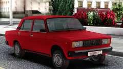VAZ 2105 Limousine Vermelho para GTA San Andreas