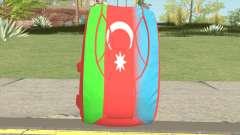 New Parachute (Azerbaijan Flag)