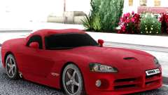 Dodge Viper  Red SRT-10 para GTA San Andreas