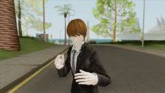 Light Yagami Skin V2 (Death Note) para GTA San Andreas