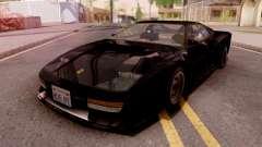 Ferrari Testarossa Custom Black para GTA San Andreas