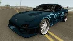 Mazda RX-7 FD3S (R3ACT Team Sessions) para GTA San Andreas