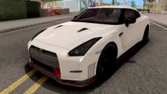 Nissan GT-R Nismo White para GTA San Andreas