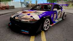 Nissan Silvia S15 Uras D1GP with Mika Girl v2 para GTA San Andreas