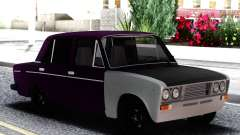 VAZ 2106 Berinjela com branco para GTA San Andreas