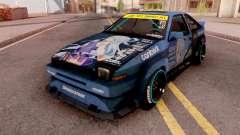 Toyota AE86 Aqua Itasha para GTA San Andreas