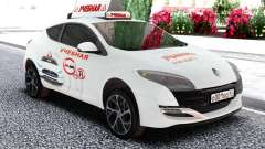 Renault Megane RS escola de Condução para GTA San Andreas