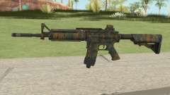 Warface M4A1 (Woodland) para GTA San Andreas