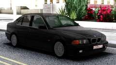 BMW 540i E39 Black para GTA San Andreas
