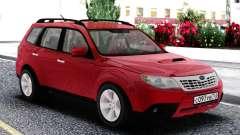 Subaru Forester XT Red para GTA San Andreas