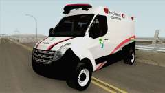 Renault Master (Base Movel PMSE) para GTA San Andreas
