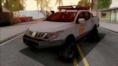 Mitsubishi L200 Off Road para GTA San Andreas