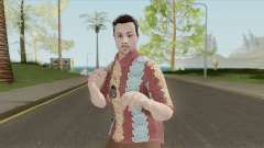GTA Online Random Skin 29 (IAA Agent Summerwear) para GTA San Andreas