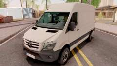 Mercedes-Benz Sprinter 2017 White para GTA San Andreas
