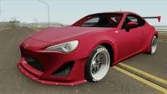 Toyota GT86 Rocket Bunny HQ para GTA San Andreas