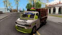 Volkswagen Transporter T4 Con Estacas para GTA San Andreas
