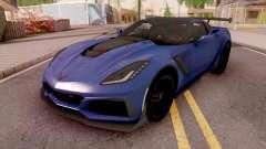 Chevrolet Corvette ZR1 2019 para GTA San Andreas