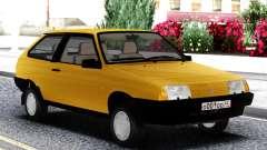 VAZ 2108 de Exportação do reino UNIDO Amarelo para GTA San Andreas