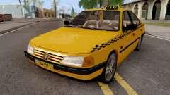 Peugeot 405 GLX Taxi v2 para GTA San Andreas