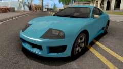GTA V Dinka Jester Blue para GTA San Andreas