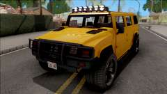 GTA V Mammoth Patriot v2 para GTA San Andreas