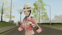 Cowgirl Skin (Creative Destruction) para GTA San Andreas